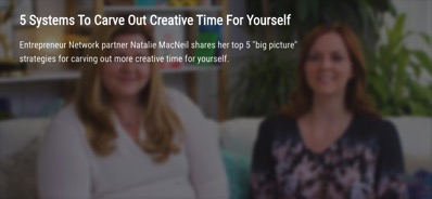 5 Ways to Carve Out More Creative Time for Yourself