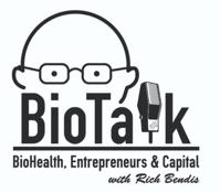 Biohealth Innovation BioTalk with Rich Bendis Wins BioBuzz Media Award