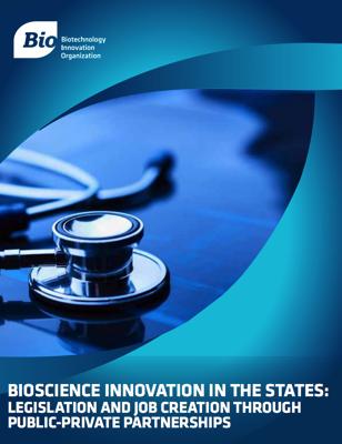 BIOSCIENCE INNOVATION IN THE STATES LEGISLATION AND JOB CREATION THR UGH PUBLIC PRIVATE PARTNERSHIPS pdf