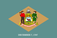 Delaware Flag State Free vector graphic on Pixabay
