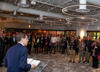 Dynamic incubator space for science based innovation formally opens