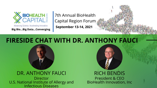 Fireside Chat with Dr Anthony Fauci