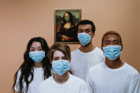 Health Workers Wearing Face Mask Free Stock Photo