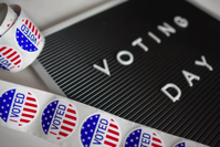 I Voted Sticker Lot Free Stock Photo