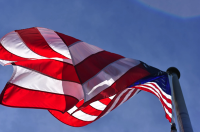 Low Angle Photography of American Flag Free Stock Photo