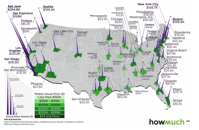 Mapped The Salary Needed to Buy a Home in 50 U S Metro Areas
