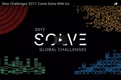 MIT s Solve initiative seeks solutions to its 2017 global challenges MIT News