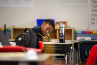 A student at Brooke Charter School in Massachusetts. BROOKE CHARTER SCHOOLS