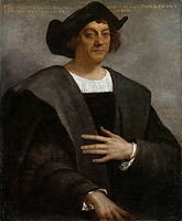 Posthumous portrait of Columbus by Sebastiano del Piombo, 1519. There are no known authentic portraits of Columbus - Wikipedia
