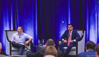George Petrocheilos (right) and R. Jacob Vogelstein are the managing partners of venture investment fund Catalio Capital Management LP. MARK DENNIS