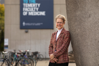 U of T's Patricia Brubaker, who has spent nearly 40 years studying anti-diabetic gut hormones, says the future of diabetes research will be figuring out how to prevent the disease in the first place (photo by Johnny Guatto)