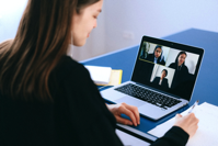 People on a Video Call Free Stock Photo