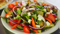 Picture of a hummy salad
