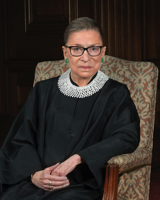 Ruth Bader Ginsburg 2016 portrait - Public Domain