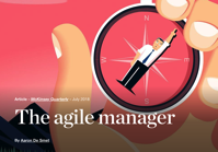 The agile manager McKinsey Company