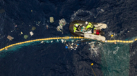 The Ocean Cleanup device is redesigned and ready to try again