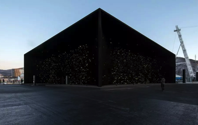 The World s Blackest Black Makes Its Debut On A Building