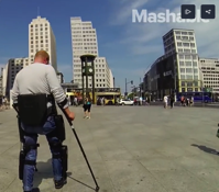 This amazing exoskeleton is helping people with paralysis walk again