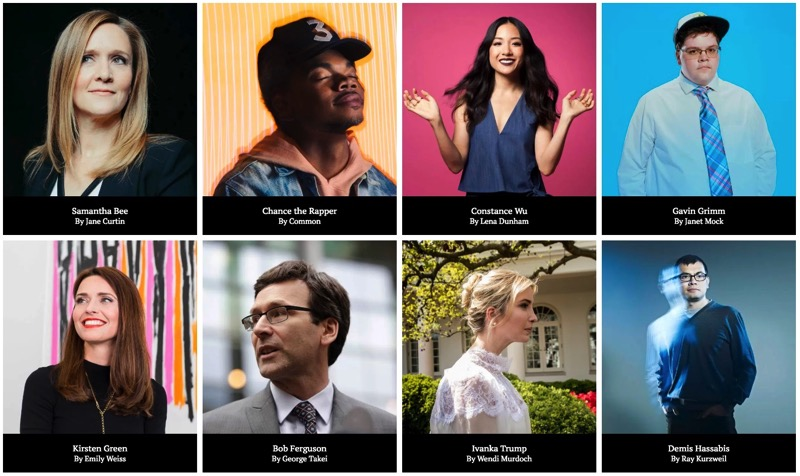 TIME 100 The Most Influential People of 2017 Time com