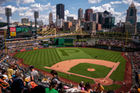 pittsburgh, PA - View from the Baseball Field.