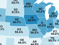 US states with the lowest college graduation rates Business Insider