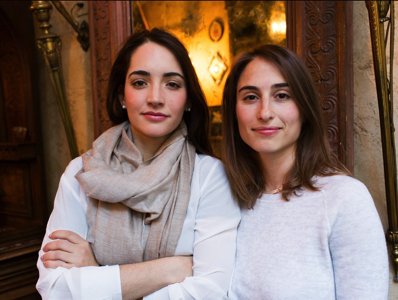 Alfred founders Marcela Sapone and Jessica Beck