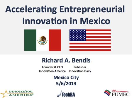 Accelerating Entrepreneurial Innovation in Mexico