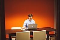 Phillip Stafford, president of the University of Arkansas Technology Development Foundation, addresses the crowd at the