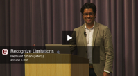Stanford s Entrepreneurship Corner Hemant Shah RMS Recognize Limitations