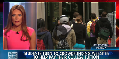 Students crowdfunding their educations Fox News Video