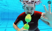 The innovators the lightweight tank that turns snorkellers into divers Business The Guardian