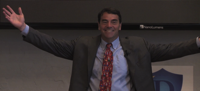 Tim Draper welcomes his students, in a promotional video. Image Credit: Draper University