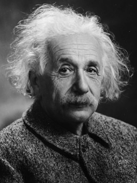 """""""I am no Einstein,"""" Einstein once said. On top of all his other qualities, the man was modest. Photo by Oren Jack Turner courtesy Wikimedia Commons."""