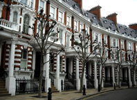 Homes in Kensington, one of London's most expensive neighborhoods. (Flickr/Klovovi)