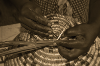 Weaving Craft Basket African Handmade