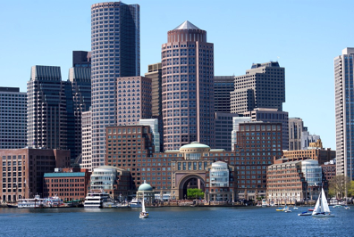 Boston Water Front City Architecture
