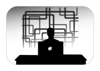 Company Personal Silhouettes Businessman