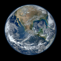 World Earth Planet Globe Spaceview Blue Space