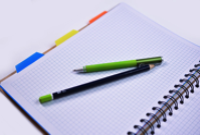 Notebook Pen Pencil Education Office Business
